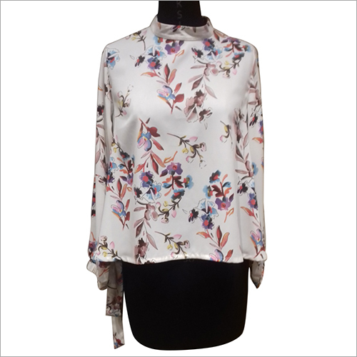 Ladies Floral Printed Top