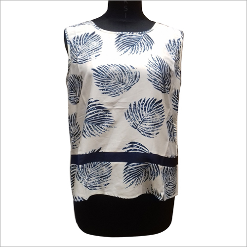 Partywear Sleeveless Top