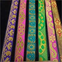 Silk Printed Saree Lace