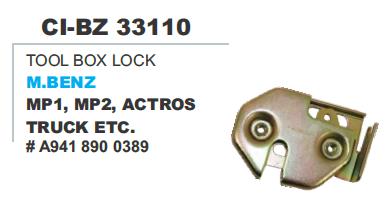 Tool Box Lock M Benz M1, M2 ,Actros Truck