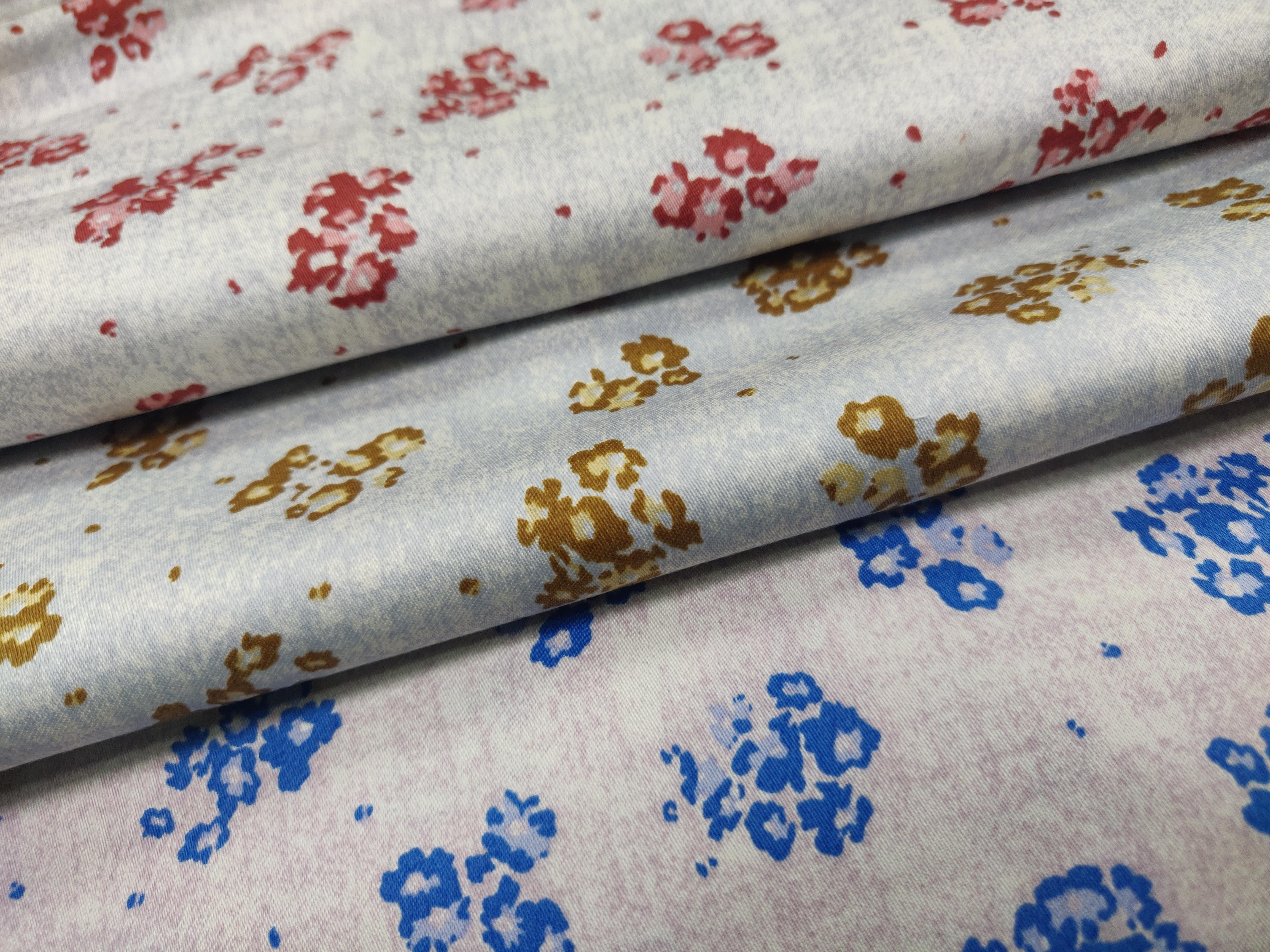 Giza Satin Printed Fabric