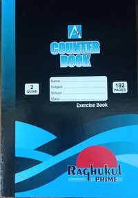 2Q 192 pages counter book