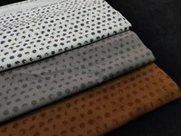 Giza satin dotted print Fabric