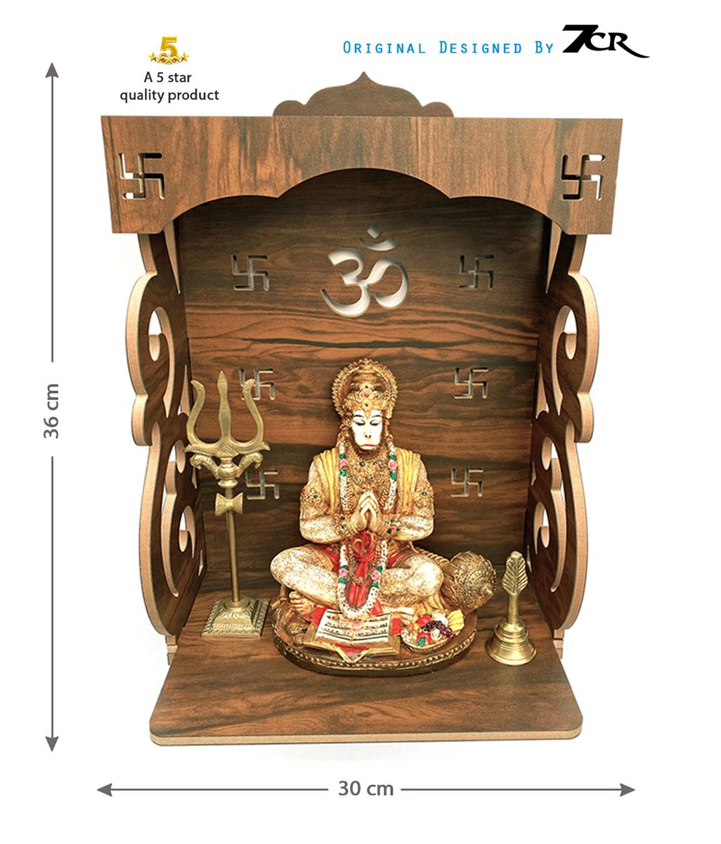 Handmade Wooden Temple
