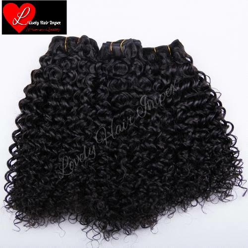 Deep Curly Hair Weft