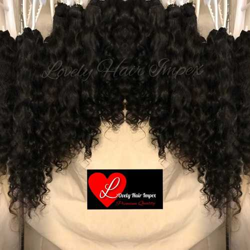 Natural Black Curly Hair