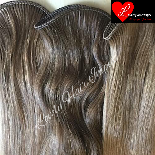 Brown Micro Weft Hair