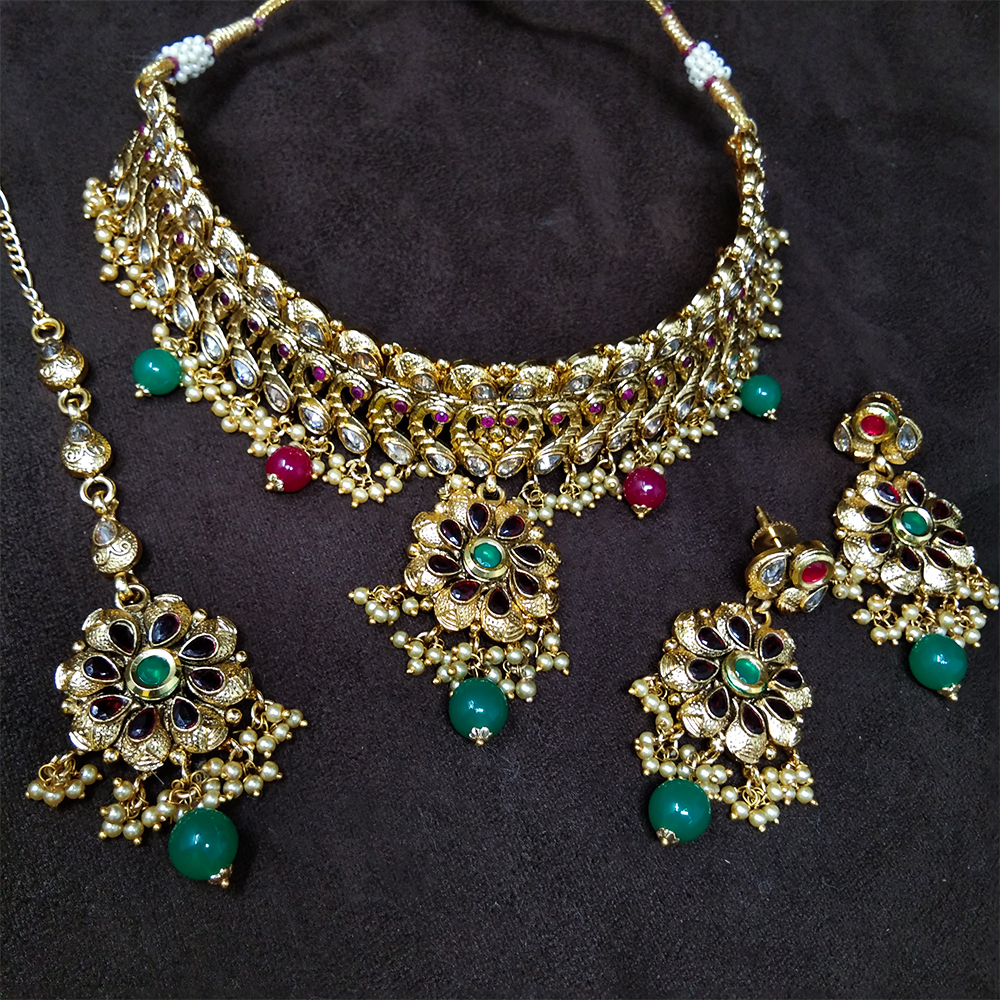 Latest Design Traditional Antique Necklace Set