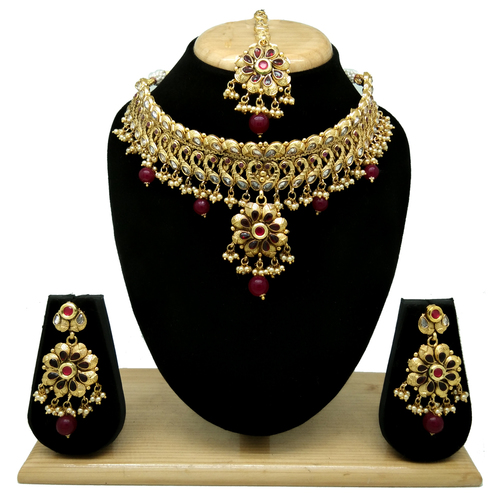 Artificial Jewellery New Design Antique Necklace Set