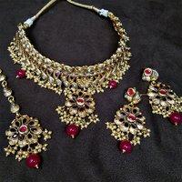 Artificial Jewellery New Design Antique Necklace Set