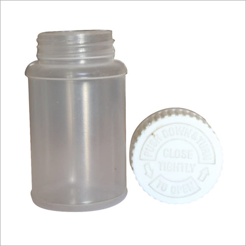 Pharma Bottle With CRC Cap