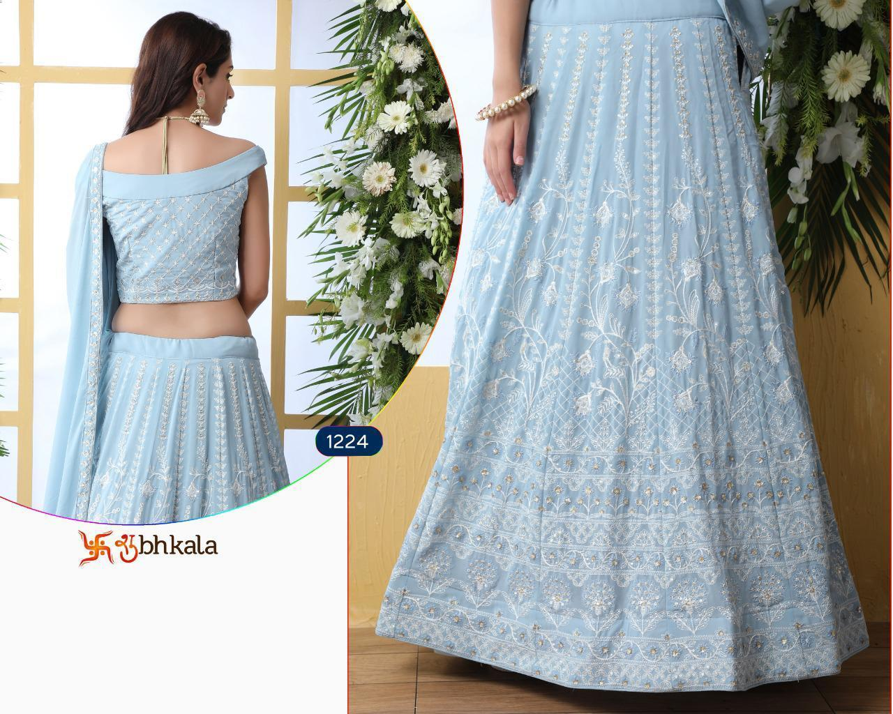 Embroidered Designer Lehenga