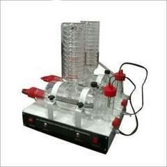 Double Distillation Unit Horizontal