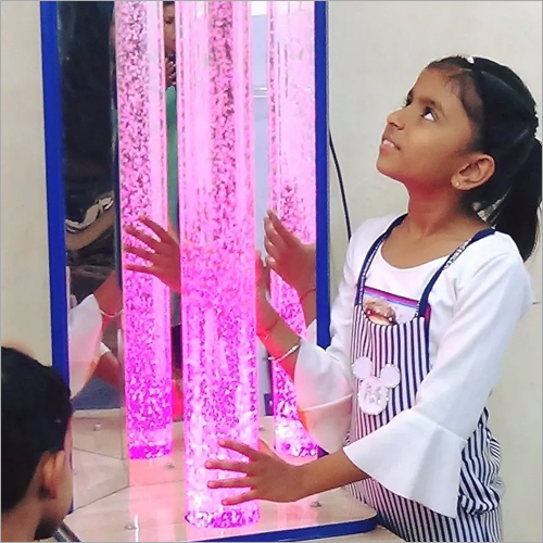 LED Column 90 Cm High Bubble Tube Column For Sensory Room