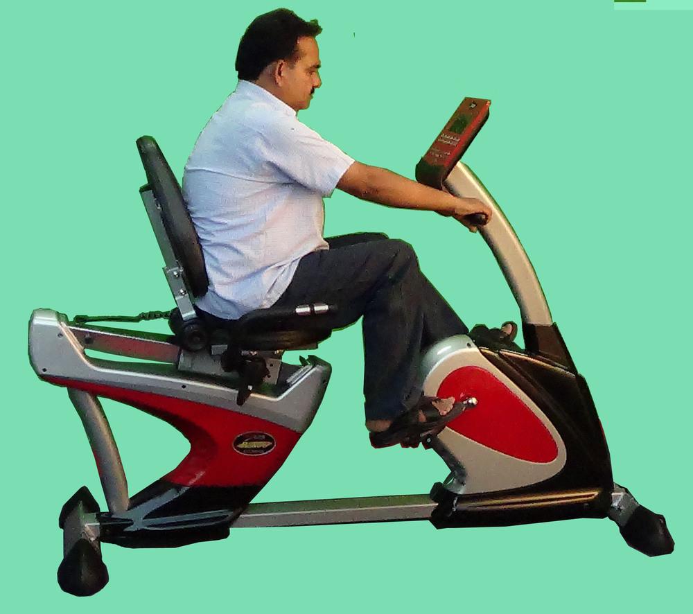 Imi 2887 Cycle Ergociser With Back-support Semi Recumbent Bike