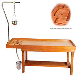 Massage Cum Sirodhara Table