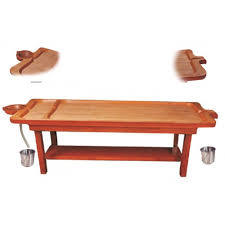Traditional Massage Table Wooden
