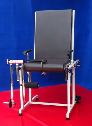 Quadriceps Exercise Table With Backrest