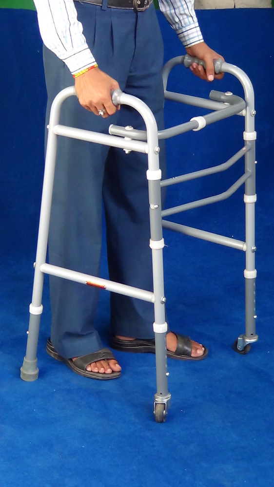 Walking Frame Adult Adj Fordable