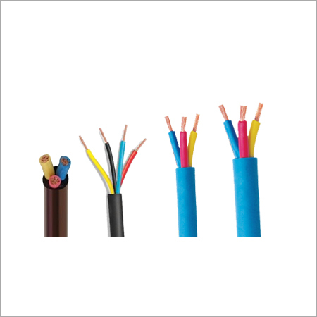 PVC 3 Core Submersible Round Cable