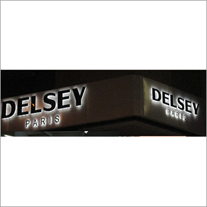 Outdoor LED Glow Sign Board