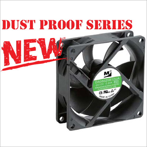 80x80x25 MM Dust Proof Plastic DC Brushless Fan