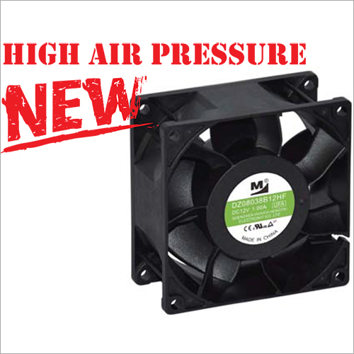 80x80x38 MM High Air Pressure DC Brushless Fan