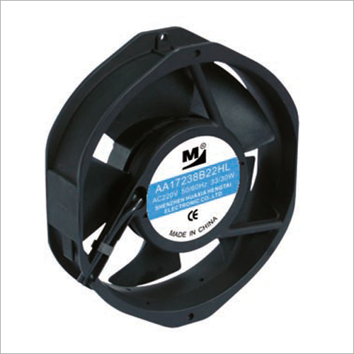 172x152x38 MM Plastic AC Cooling Fan