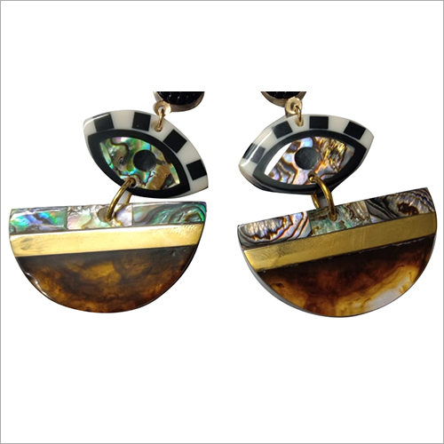 Unique  Resin Earrings