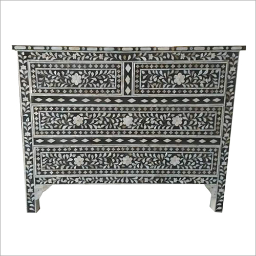 Bone Inlay Chest Drawer