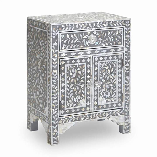 Rectangular Bone Inlay Chest Drawer