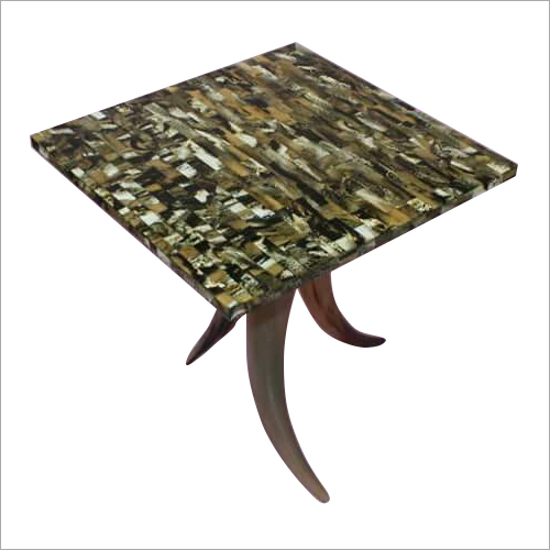 Natural Buffalo Horn Table