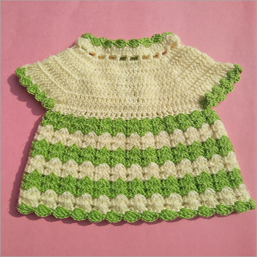 Baby Girl Knitted Frock