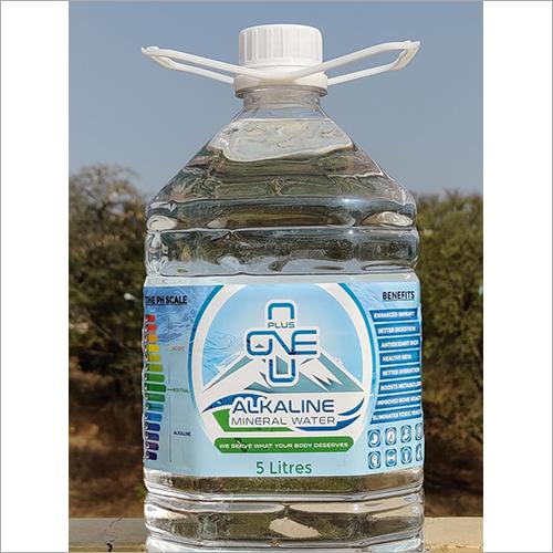 5 Ltr Alkaline Mineral Water