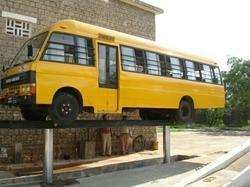 Hydraulic School Bus Washing Lift