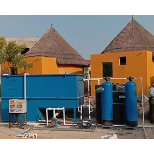 Residential Waste Water Sewage Treatment Plant