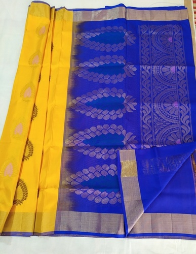 Function Wear Soft Silk Sarees