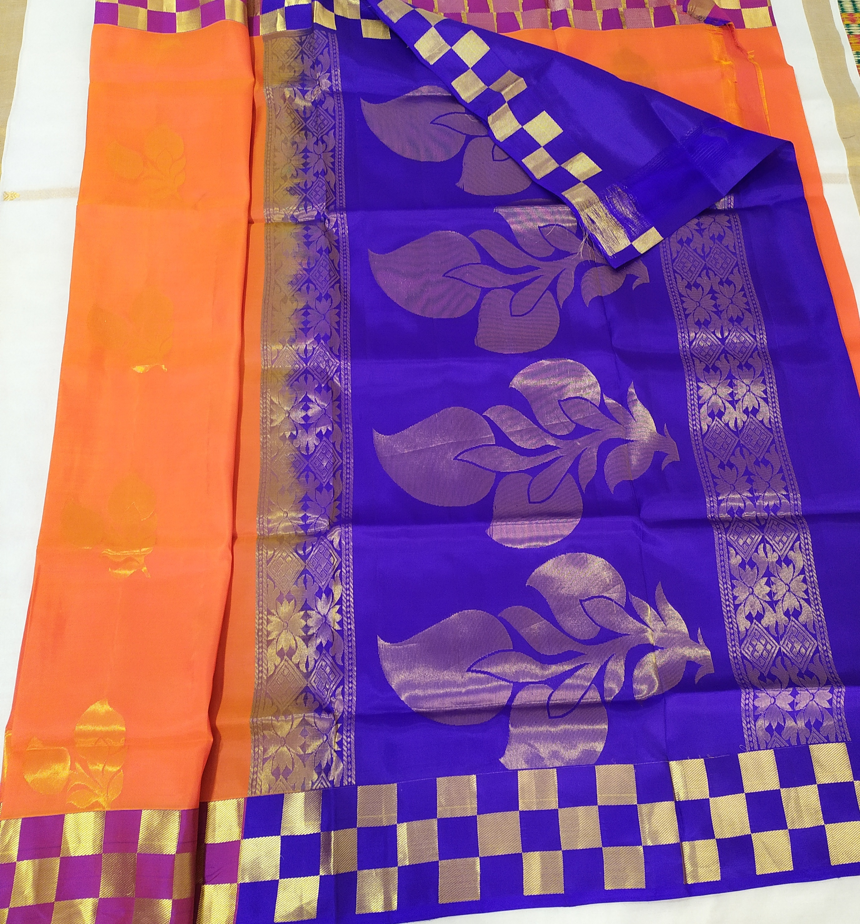 Function Wear Soft Silk Sarees