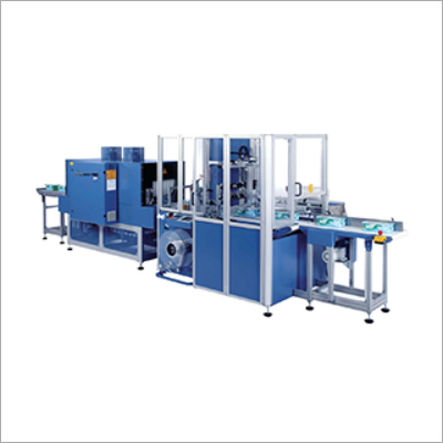 Continuous Side Sealing With Shrink Tunnel Machine