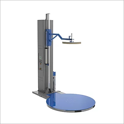 Pallet Stretch Wrapping Machine with pressing