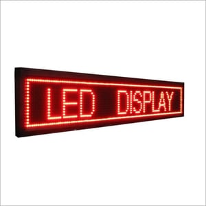LED Boards Scrolling Display
