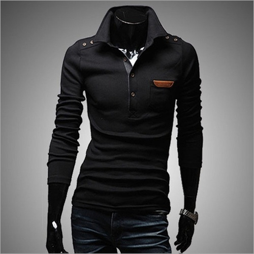 Mens Stylish Full Sleeve T-Shirt
