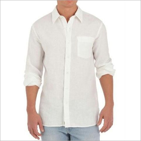 Mens Linen Formal Shirt