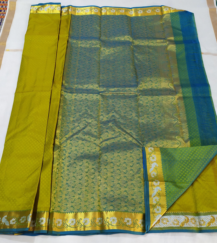 Pure Silk Little Border Sarees