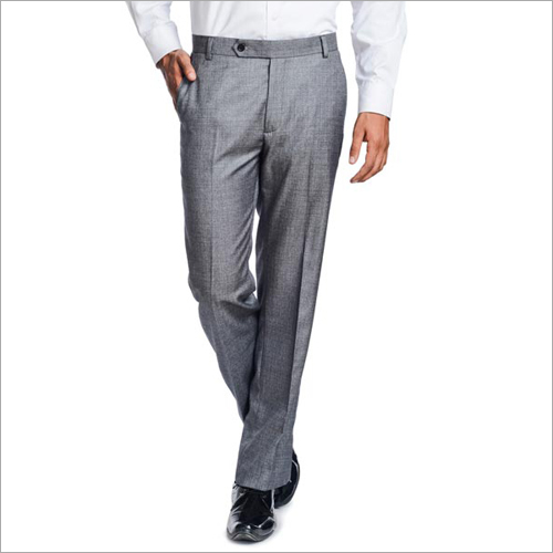 Mens Grey Trousers