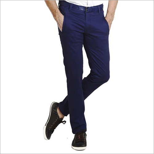 Mens Blue Trousers