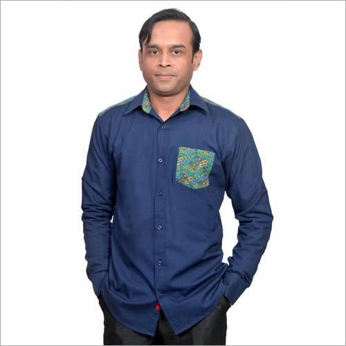 Mens Plain Casual Shirts