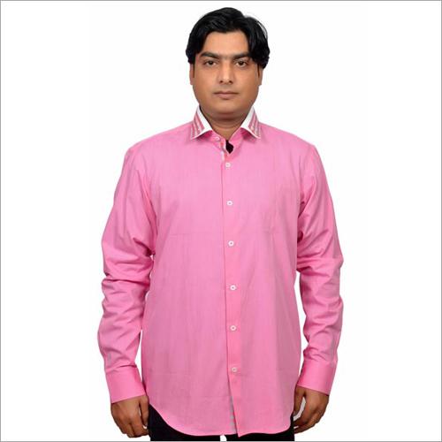 Mens Pink Shirts
