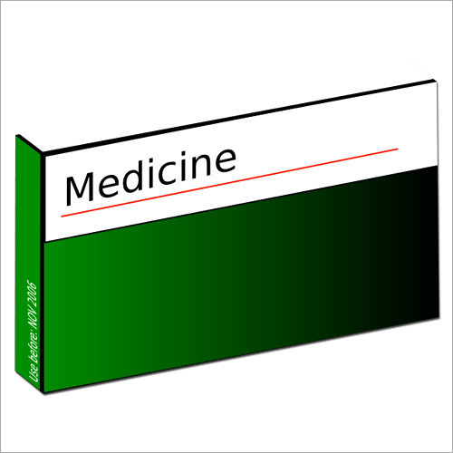 Printed Medicine Packaging Box