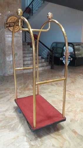 Maharajah Golden Luggage Trolley
